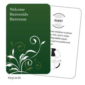 MIWA keycards
